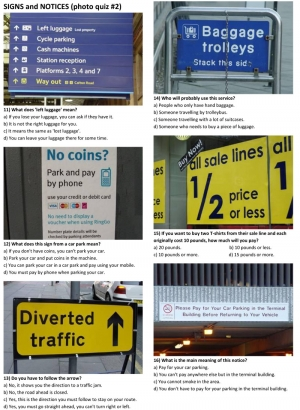 SIGNS and NOTICES (photo quiz 02)